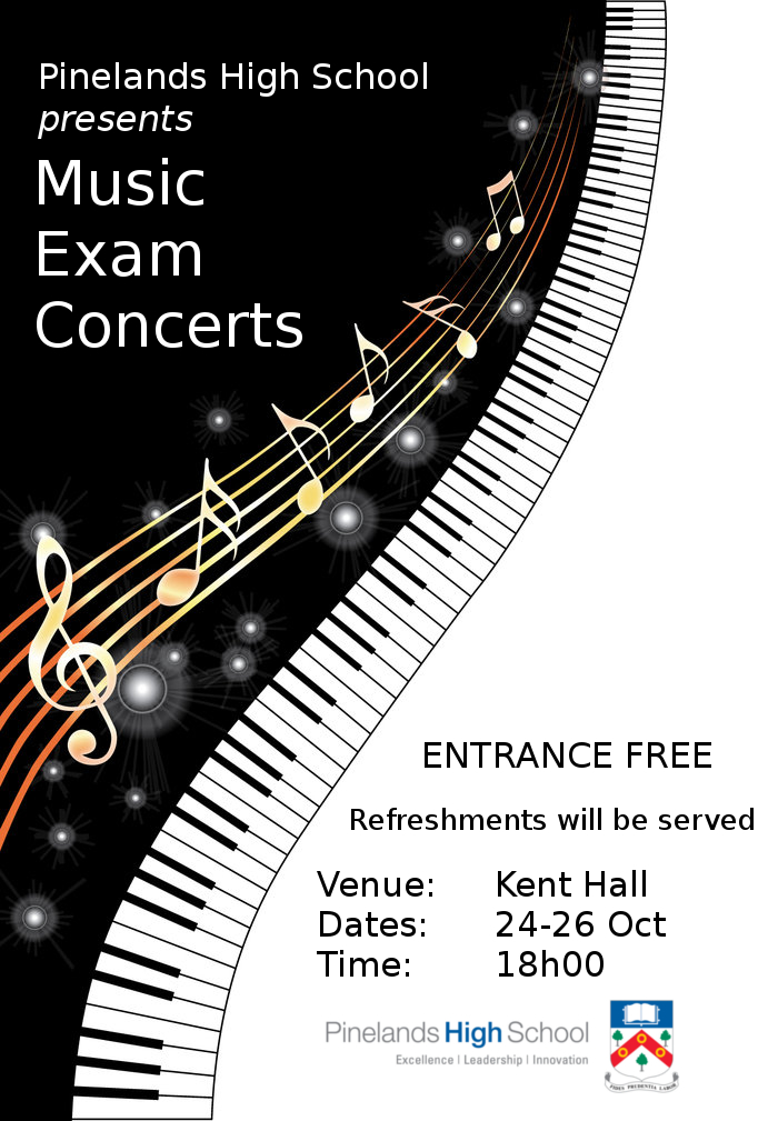Music Exam Concerts 2016 Poster