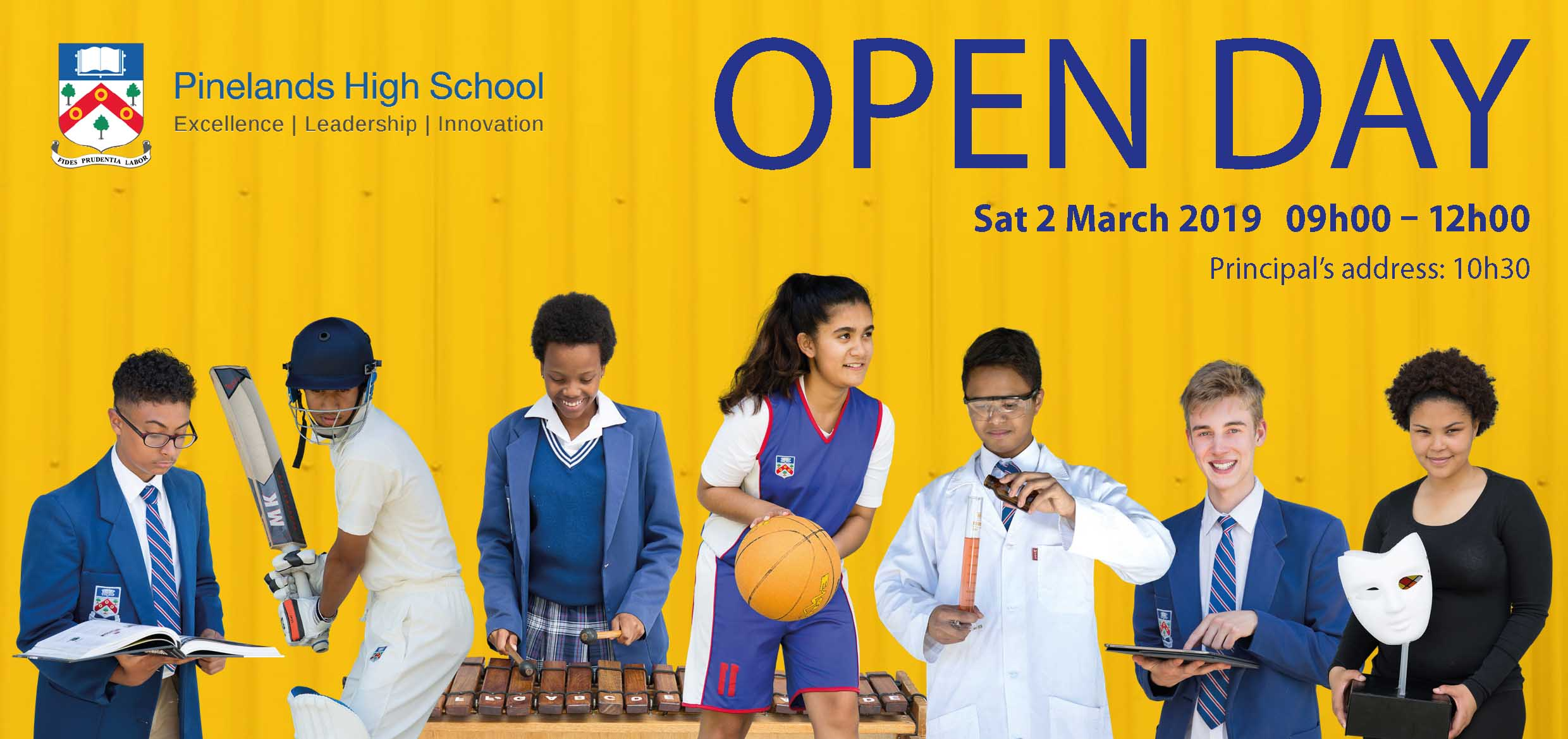 PHS The Muse Open Day advert 2019